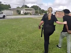 smashing milf cops are going interracial with that loaded black monster