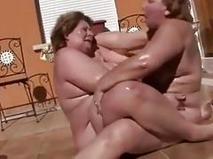 Lesbians BBW
