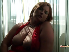 PAWG makes her big queasy cunt spew