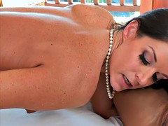 india summer and eva lovia hot ffm 3way in the bedroom