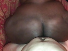PHAT Sombre BBW ASS Beyond everything MY WHITE COCK