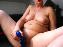 BBW curvy big boob milf plays on high webcam