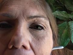 bubble prat mexican granny gets prat fucked latina gilf