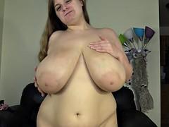 astonishing tits on chubby young girl