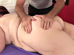 giant tittied fat ass lady lynn gets a coition massage