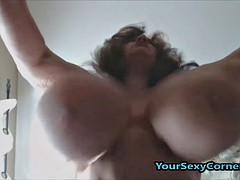 bbw granny has the biggest on the up saggy tits around usa