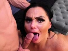 Hot pornstar anal with facial