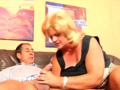 Fat Botheration German Mature Gets Pussy Fucked
