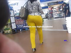 Long Leggs Curvy Yellow Slacks Sista