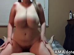 amateurish bbw ride on cock