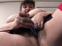 Dildo is on the top of enough for her