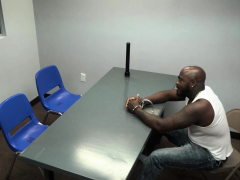 Milf cops interrogate suspect by attracting cock