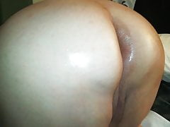 Oiled up ass