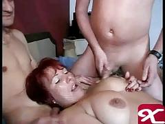 German mature let the boys cum
