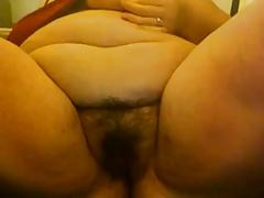 Horny hairy BBW