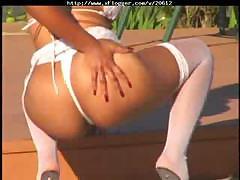 Big Booty Light Skinned Ebony Kandi Kream