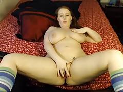 Freaky Pornstar Felicia Clover getting dirty!