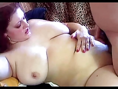 Chunky Redhead With Big Hangers Kristina Fucked