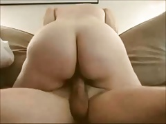 Amateur wife passionate and sensual riding