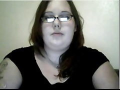 Horny and Young BBW Toying on Webcam (No Sound)
