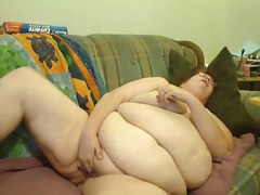 BBW morning orgasm