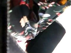 bbw black panties at work 2