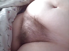 her hairy pussy is so soft but her nipples are so hard
