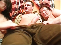 Delicious Fat Grandma Threesome