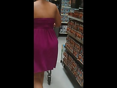 Jiggly Thick Pawg in Purple Dress