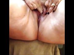 Big Girls masturbation around for fun