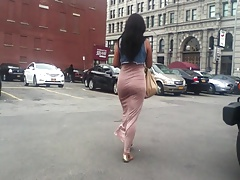 Sexy Candid Booty Skirt Jiggle