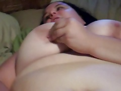 Young BBW KKatt has a healthy ORGASM for not Daddy