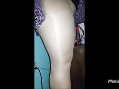 upskirt in pantyhose