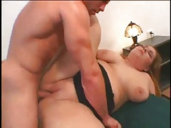 Hot Fat BBW ex GF loves her shaven pussy fucked daily-1