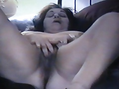 bbw Lucy's hairy pussy