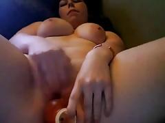 Hottie Horny Teen Chubby BBW Cumming on cam-1