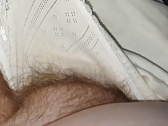wifes tired flimsy pussy in cotton pantys