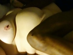 Blindfolded BBW wife with BBC 3