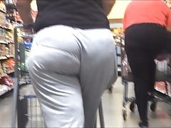 VPL Phat Ass in Loose Grey Pants