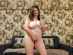 chubby big tits fillet dance