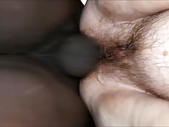 Angel, FAT Hairy Pussy But Tight Gap