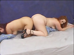 BBW Candy Nicole in hot nance step