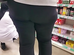 Thick Pawg Black Leggings