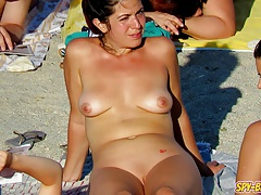 Hot Voyeur Amateur MILFs - Nudist Coast Spy Videotape