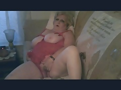 BBW Masturbates then Gets Doggy