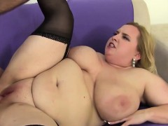 Big Boobed broad in the beam pussy fucked