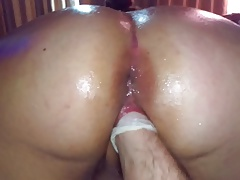 BBW horny for fisting