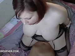 British Wife takes say no to cunning broad in the beam cock