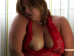 Naughty Desiree hairy pussy PAWG