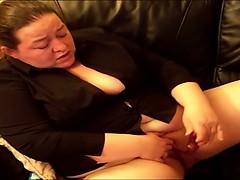 Irish big babe Canada rubbish jilling off Blithe from 1fuckdatecom